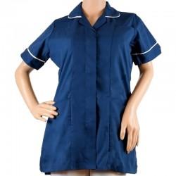 LIR2 - Bluza medicala fermoar/rever LOTUS