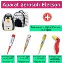 Aparat aerosoli Pingo (EL006) + Termometru digital Elecson