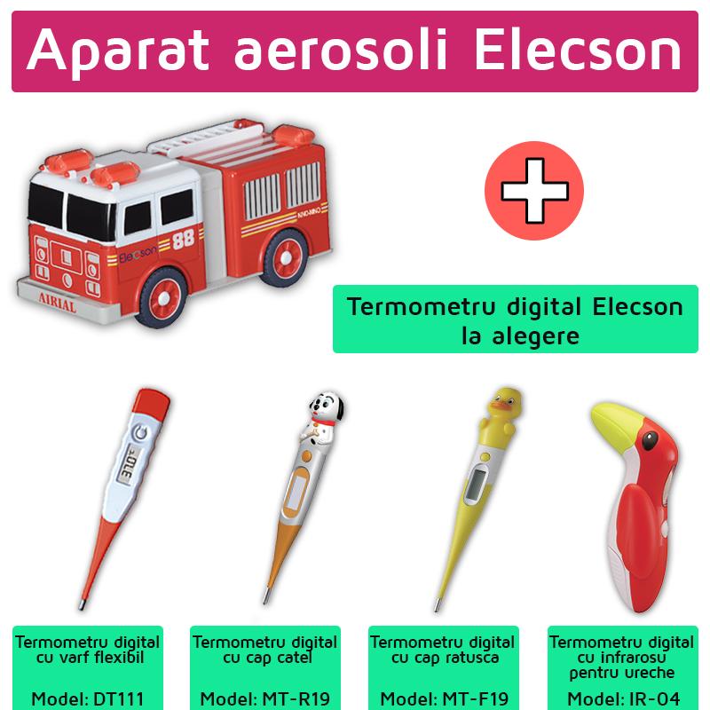 Aparat aerosoli Nino-Nino (EL004) + Termometru digital Elecson