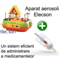Nebulizator - Aparat aerosol Bricks Nebulizer System (EL005) + Sticluta un sistem eficient de administrare a medicamentelor
