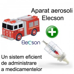 Nebulizator - Aparat aerosol Nino-Nino Nebulizer System (EL004) + Sticluta un sistem eficient de administrare a medicamentelor