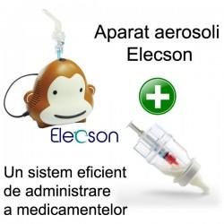 Aparat aerosol Monkey Nebulizer System Elecson (EL001) + Sticluta un sistem eficient de administrare a medicamentelor