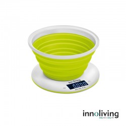 INN129 - Cantar electronic de bucatarie cu bol pliabil - 5 kg
