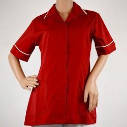 LIR1 - Bluza medicala capse/rever LOTUS