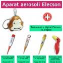 Aparat aerosoli Monkey Elecson (EL001) + Termometru digital Elecson