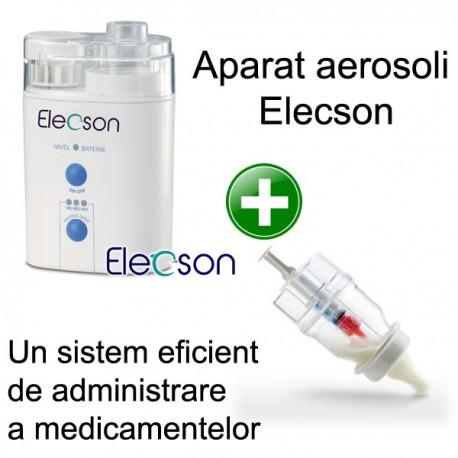 Aparat aerosol cu ultrasunete (EL009) + Sticluta un sistem eficient de administrare a medicamentelor