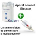 Aparat aerosoli cu ultrasunete (EL009) + Medibottle pentru bebelusi